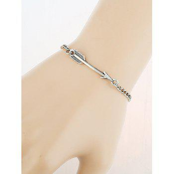 Love Arrow Vintage Chain Bracelet