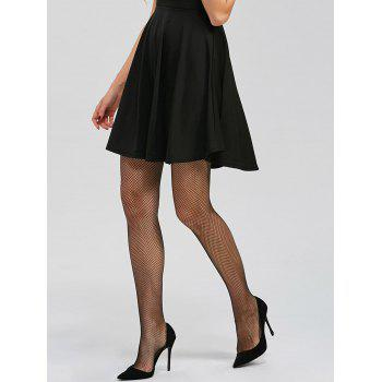 Sheer Fishnet Tights - BLACK ONE SIZE