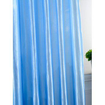 Grommets Ring Roller Blackout Curtain - BRIGHT BLUE 100*200CM