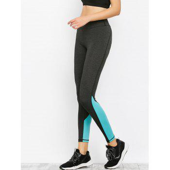 Colorblock Panel Sporty Leggings