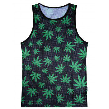 Breathable Weed Tank Top
