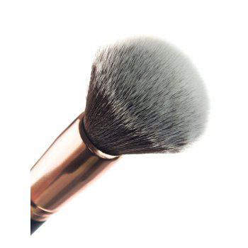 Cosmetic Fiber Powder Brush -  BLACK