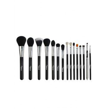Multifunction 15 Pcs Fiber Makeup Brushes Set