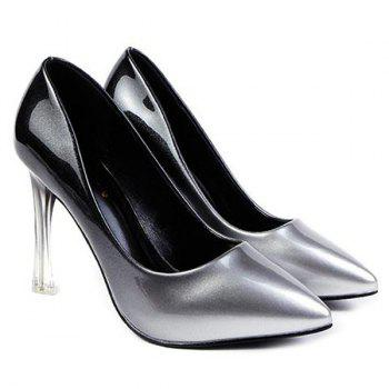 Crystal Heel Ombre Pumps