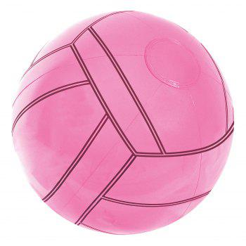 Inflatable Sports Beach Ball  -  LIGHT PINK