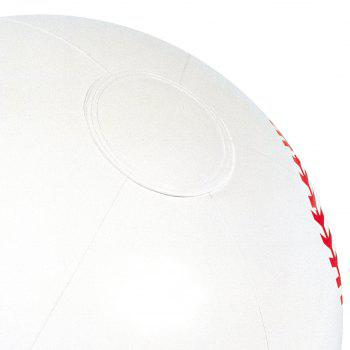 Inflatable Sports Beach Ball  -  WHITE