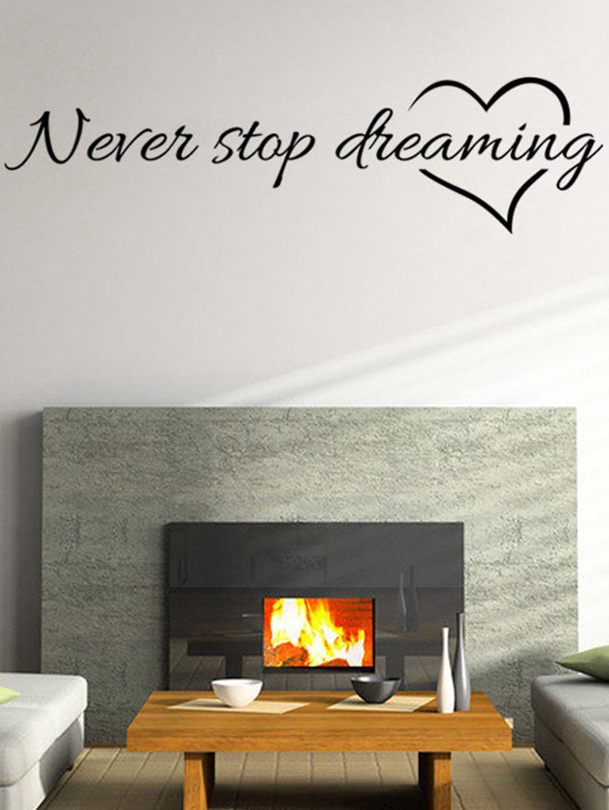 Never Stop Dreaming Quote Wall Stickers sda100 100 free shipping 100mm bore 100mm stroke compact air cylinders sda100x100 dual action air pneumatic cylinder