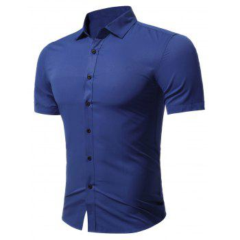 Short Sleeve Business Shirt in Slim Fit