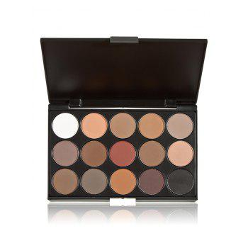Eyeshadow Palette with Makeup Brushes Set - COLORMIX