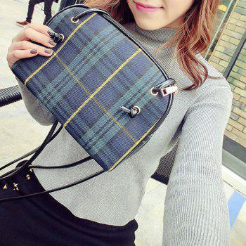 Tartan Check Cross Body Bag