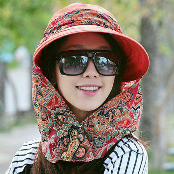 Paisley Print  UV Protection Folding Bucket Hat