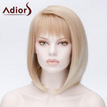 Adiors Hair Synthetic Short Full Bang Straight Bob Wig