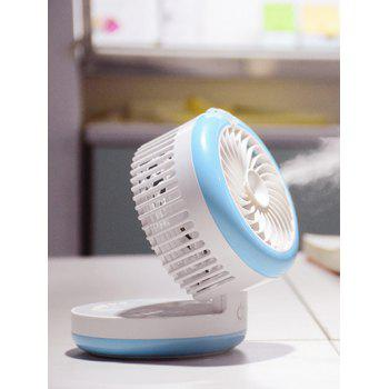Portable Palmtop Electrical USB Humidifier Mini Fan