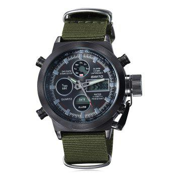 GIMTO Outdoor Waterproof Analog Digital Watch
