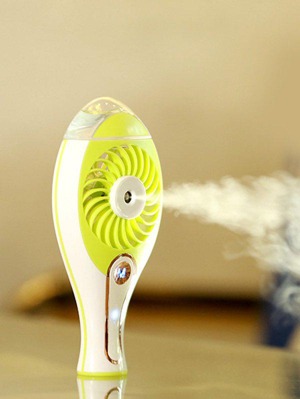 Electrical Handheld USB Rechargeable Humidifier Mini Fan