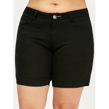 Plus Size Mini Shorts