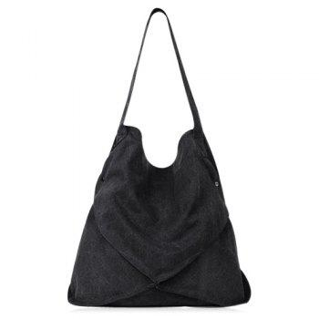 Canvas Slouch Shoulder Bag
