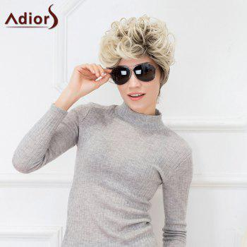 Adiors Hair Short Curl Hair Style Fluffy Synthetic Fiber Wig