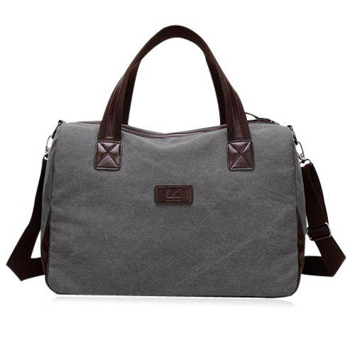 Cross Body Canvas Bag Nuit - Gris