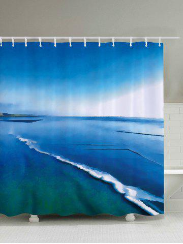 2018 Lake Blue Shower Curtain Online Store Best Lake Blue