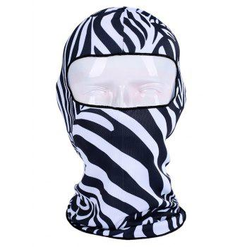 Animal Printed Multipurpose Bicycle Head Mask Cap
