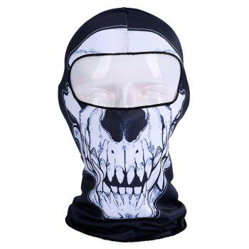 Individualized Skull Print Bicycle Head Mask Cap