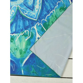 Rectangle Sunbath Printed Beach Throw - ONE SIZE ONE SIZE