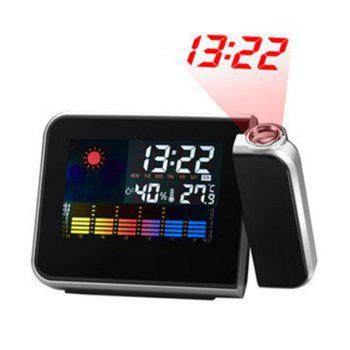 Projection Digital Weather Display LED Alarm Clock