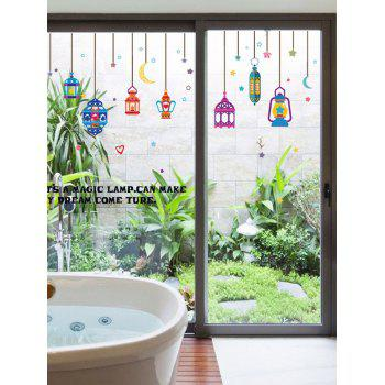 Colorful Droplight Removable Wall Stickers