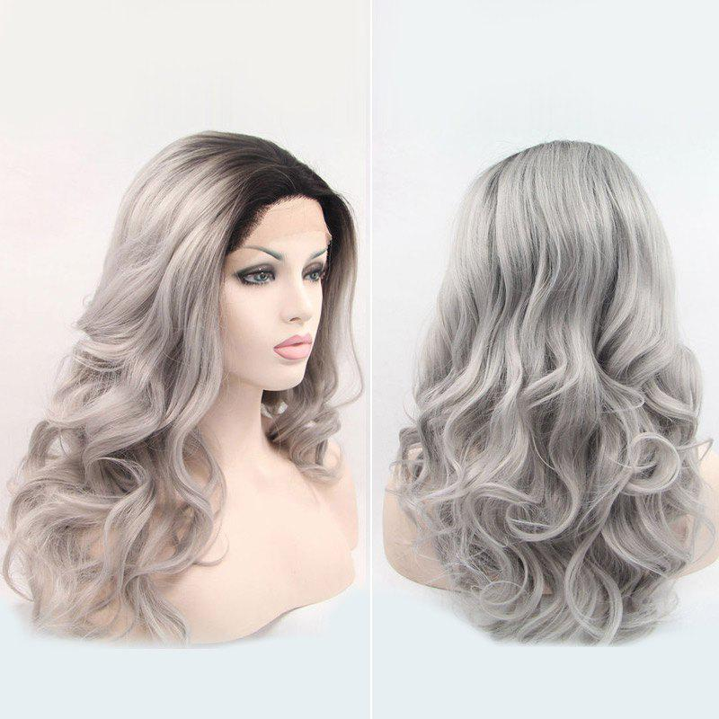 Long Wave Haircut Synthetic Lace Front Wig - COLORMIX 26INCH