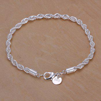 Chic Nude Link Bracelet - SILVER SILVER