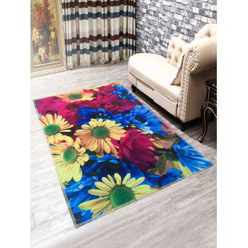 Anti-Slip Sunflowers Doormat Carpet