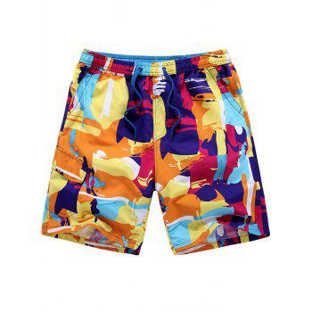 Pockets Scrawl Shorts