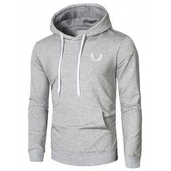 Pullover Embroidery Hoodie