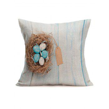 Easter Eggs Printed Pillowcase