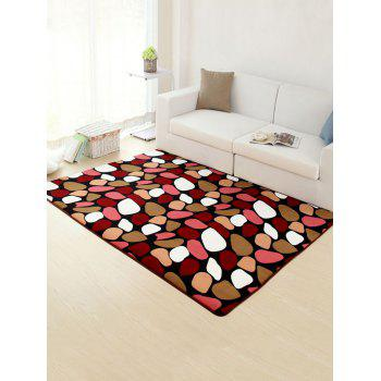 Geometry Stone Soft Absorbent Non-Slip Rug