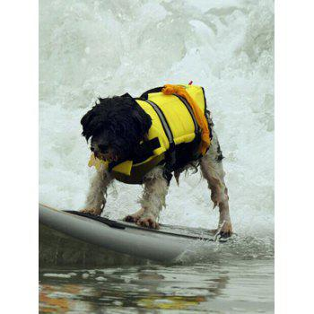 Mutlipurpose Pets Swimwear Dog Safety Swim Vest - YELLOW S