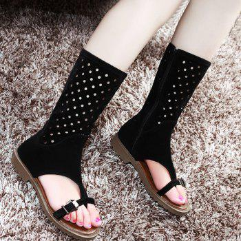 Buckle Straps Toe Ring Sandals