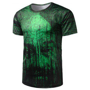 Face Pattern Cool Tee