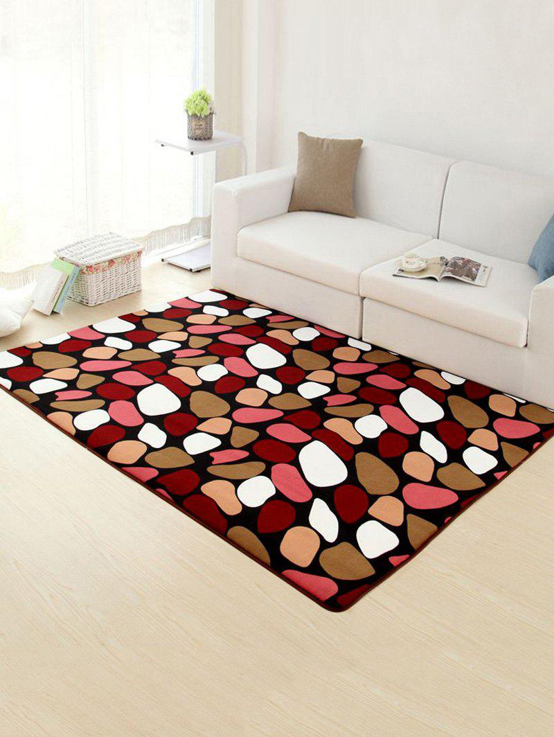Geometry Stone Soft Absorbent Non-Slip Rug - COLORMIX 40*60CM