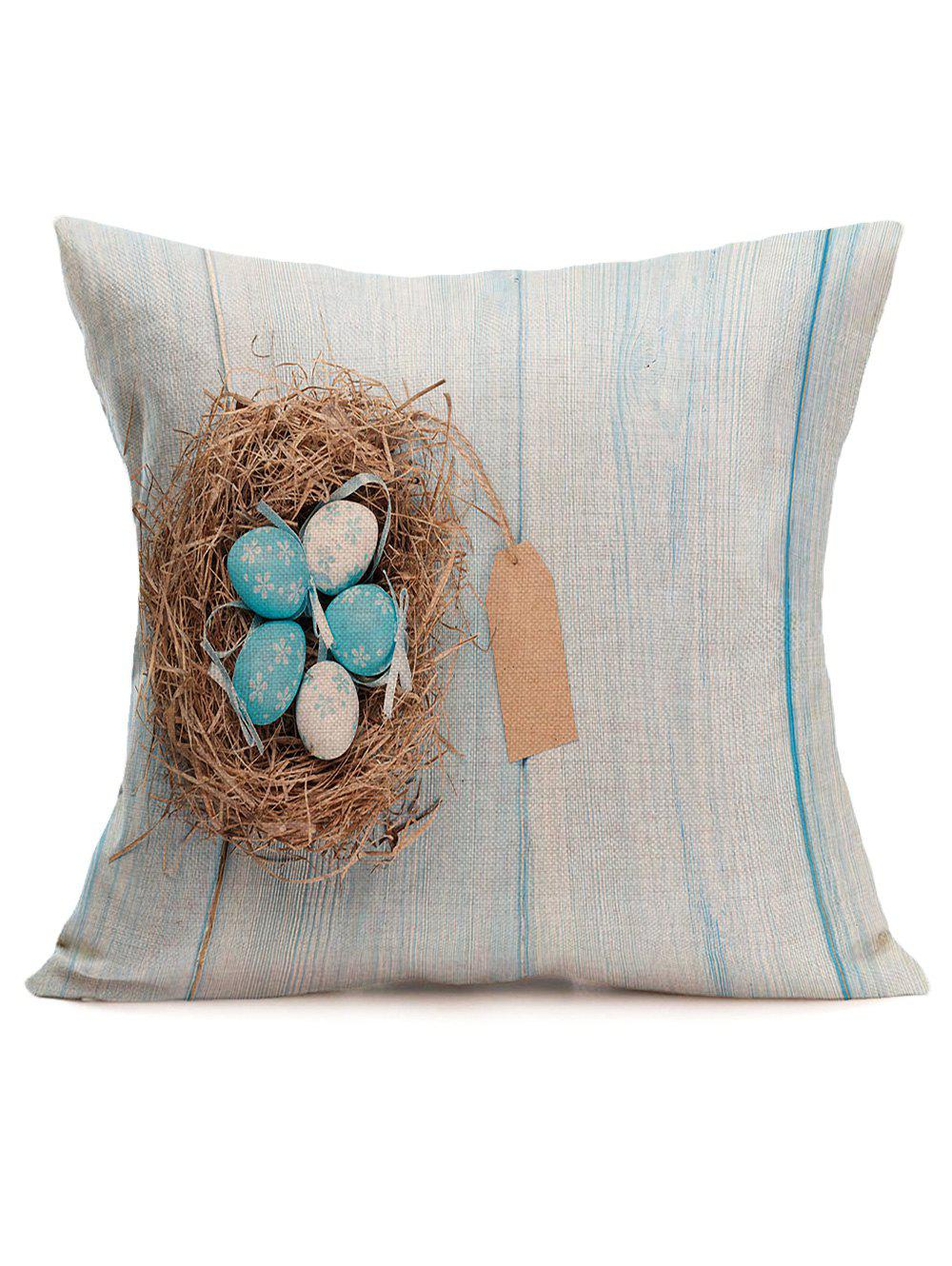 2018 Easter Eggs Printed Pillowcase COLORMIX In Decorative Pillows & Shams Online Store. Best ...