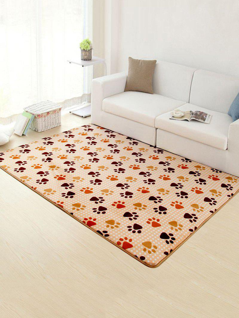 Footprint Antislip Soft Absorption Rug - CAMEL 50*80CM