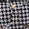 Houndstooth Buckle Straps Backpack - CHECKED