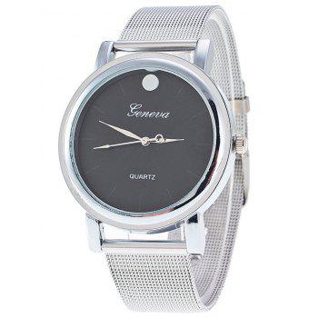 Stainless Steel Mesh Band Watch