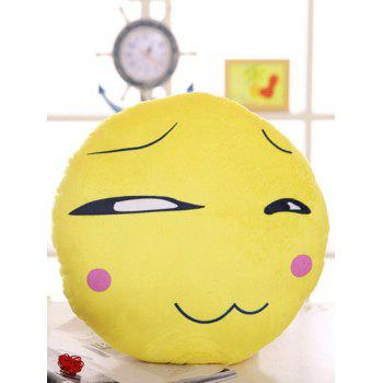 Soft Plush Round Shape Face Expression Pillow