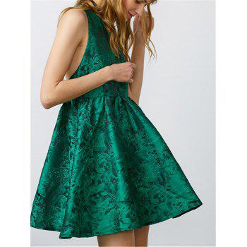 Jacquard Mini Skater Club Dress