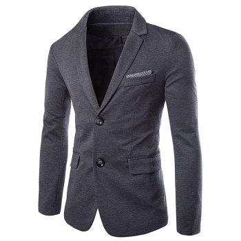 Swallow Gird Panel Single Breasted Blazer