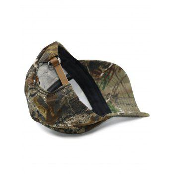 Army Military Hat with Biomimetic Tree Brach Print -  COLORMIX
