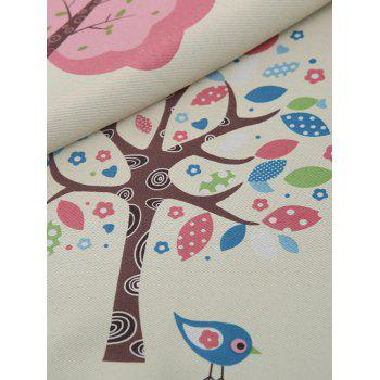 Screening Tree Print Blackout Curtain For Living Room - 100*200CM 100*200CM
