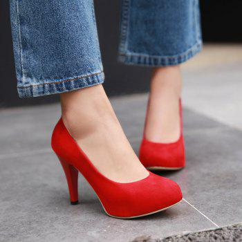 Stiletto Heel Platform Pumps